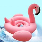 EU Direct  Children Inflatable Pool Toys Swimming Float Seat Cartoon Animals Swim Ring Swimming Boat