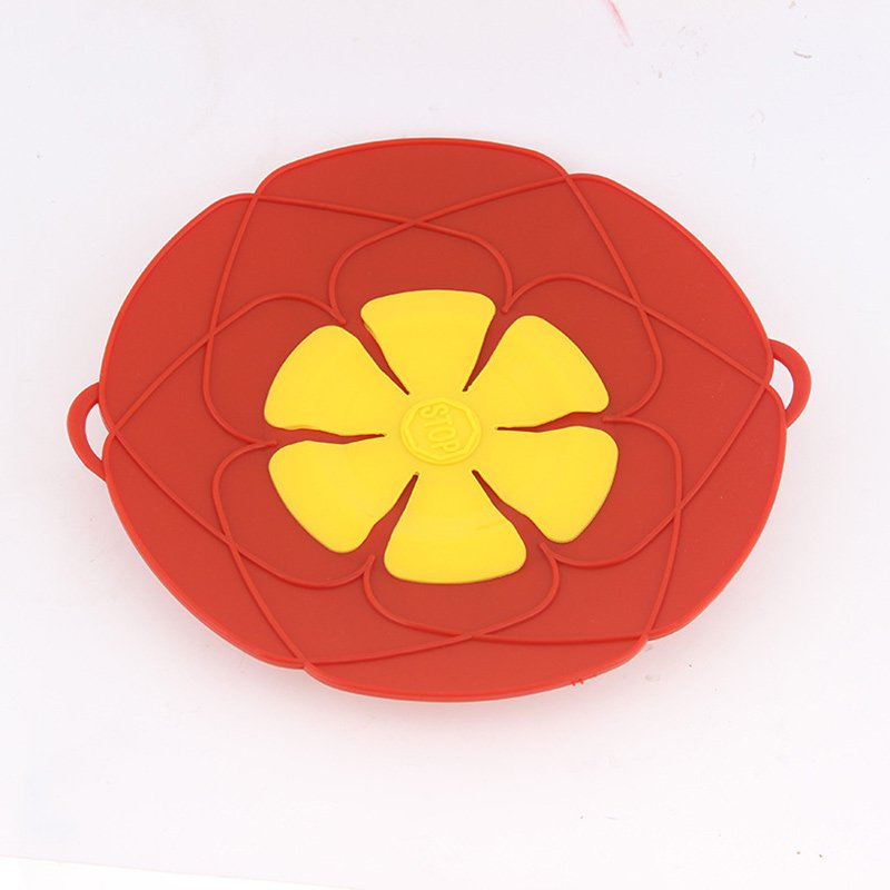 [EU Direct] Korean Domestic Kitchen Splash Resistant Spill-proof Dust-proof Heat-resistant Silicone Cover