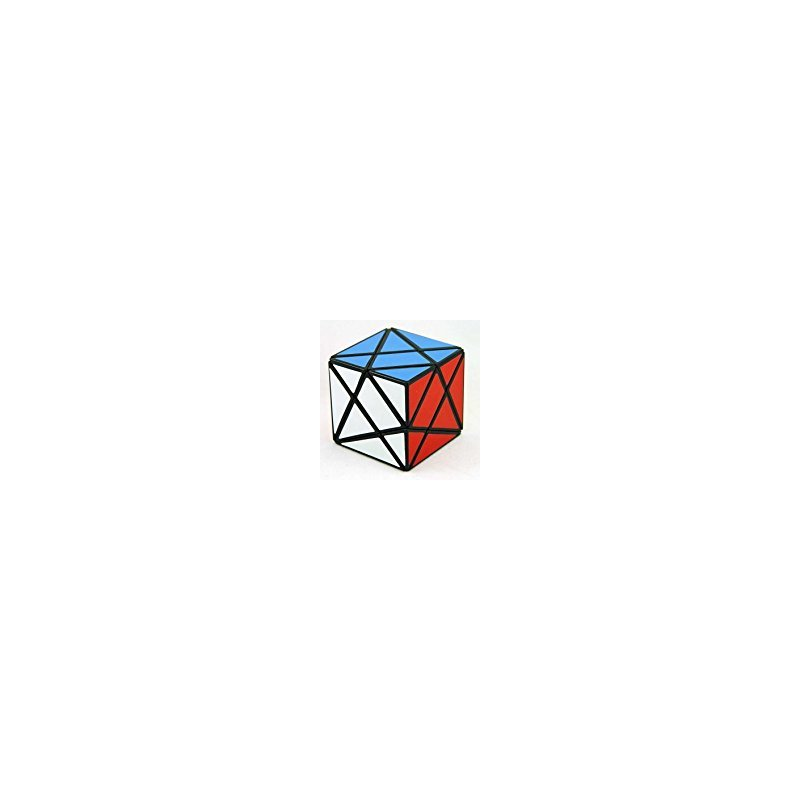[EU Direct] LanLan Angle Shape Mode Axis Fluctuation Puzzle Cube (Black)