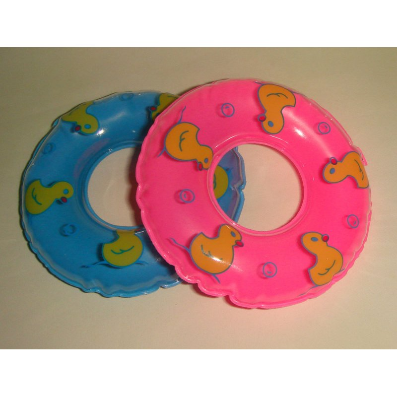 [EU Direct] Mini Swimming Ring doll Kids Gifts EW30666 Pink