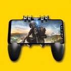 [Indonesia Direct] For PUBG Mobile iPhone Android AK66 Fire Trigger Gamepad Controller Joystick  black