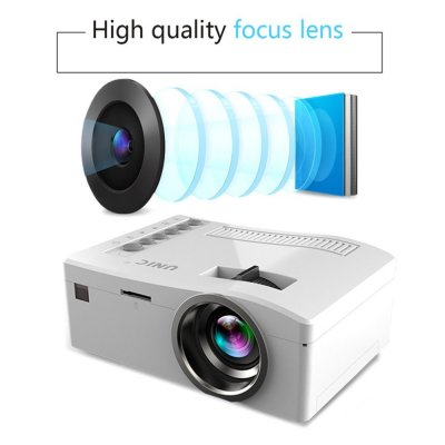 HD 1080P TFT LCD Home Mini Projector  UK