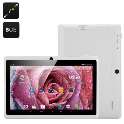7 Inch Android Tablet 'Orion' (White)