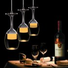 Wine Glass Ceiling Light Pendant Lamp