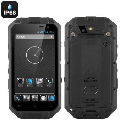 Rugged IP68 Android Smartphone 'T3S' (Black)