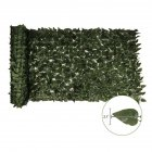 [US Direct] Artificial Fake Leaf Foliage Privacy  Fence  Screen Garden Panel Outdoor Hedge Peach Leaf