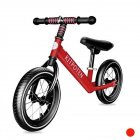 [US Direct] Balance  Bike Toddler Training Bike For 4-9 Year Old Kids No Pedal Scooter Bicycle red