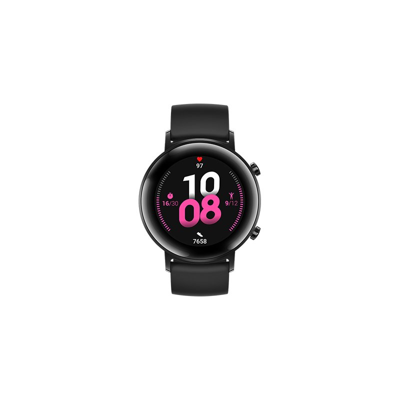 [US Direct] HUAWEI Watch GT 2 Smart Call Blood Oxygen Heart Rate Tracker for Android iOS Black_ black
