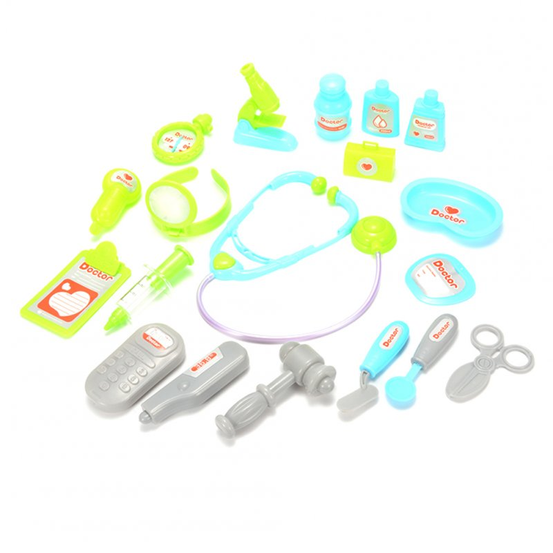 [US Direct] Play Doctor Kit Medical Toys Pretend Doctor Kit Prentend Play Toys for Kids