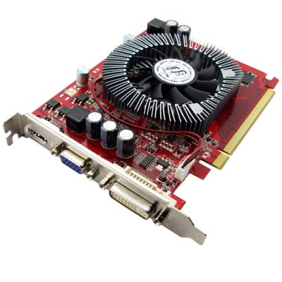 ATI Radeon HD4650 128MB PCI Express x16 Graphics Card