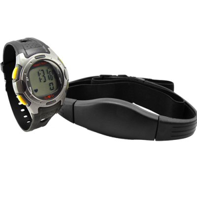 Heart Rate Monitor - Exercise Watch + Chest Belt