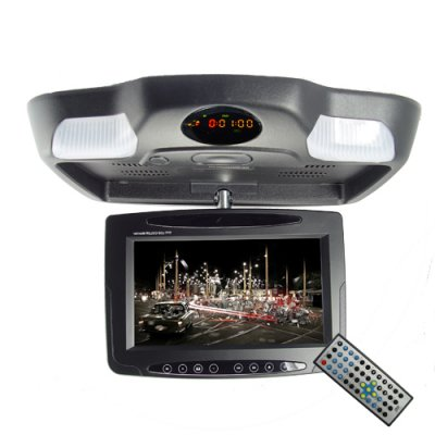 Roof Mount Multimedia System - 8.5 Inch Widescreen AV Monitor