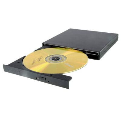 External DVD Drive - Portable USB 2.0 DVD Reader