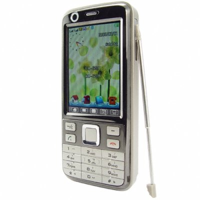 Quad Band Touchscreen Media Cellphone - Dual SIM / Dual Standby