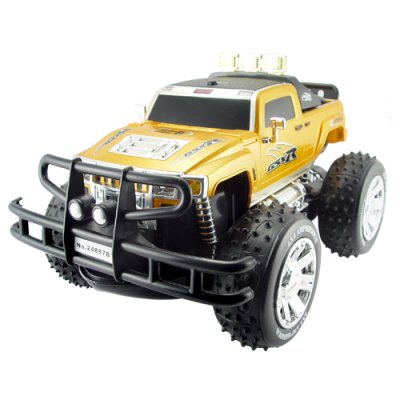 Radio Control Amphibious Monster Toy RC Truck (110V)