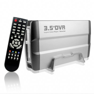 DVR Hard Drive Enclosure and Media Player for 3.5 Inch SATA