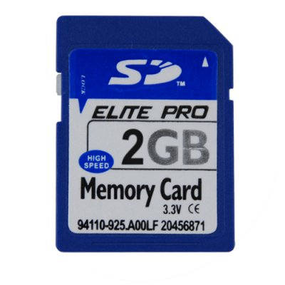 2GB SD Memory Card (Single)