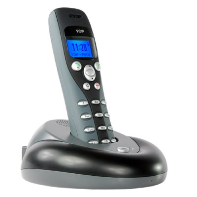 Skype VoIP USB Wireless + Landline Phone (2-in-1)