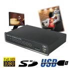 1080P Hi-Def SD / USB Memory Card Media Player