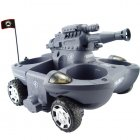 Radio Control Amphibious Transformer Toy RC Tank (110V)