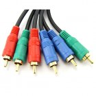 Bulk Component Video Cables in 1.5M (5 ft) Length
