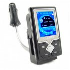 Car MP4 + MP3 Player with FM Stereo Transmitter (4GB)
