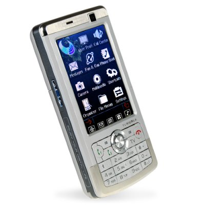 Quad Band 3.0 Touchscreen Cellphone - Unlocked Dual SIM (Silver)