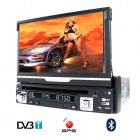 GPS Car DVD with DVB-T and Bluetooth (1-DIN)