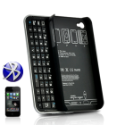 is designed to fit iPhone 4 devices  The form fitting case protects and secures with the added convenience of a full slide out wireless QWERTY keyboard