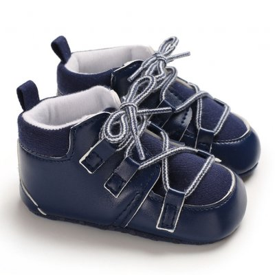 0-1 Years Baby Infant Boys Soft Sole Fashion Baby Shoes Casual Sports Shoes blue_Inside length 11 cm