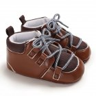 0-1 Years Baby Infant Boys Soft Sole Fashion Baby Shoes Casual Sports Shoes brown_12 cm inside length