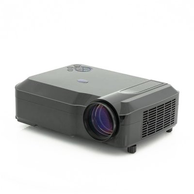 3800 Lumens LED Projector (Black)