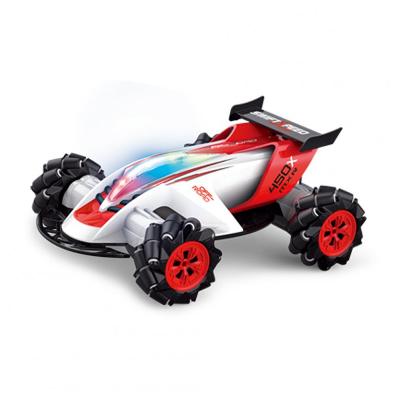 1/10 Children Toys Remote Control Car Climbing Car 360 Degree Stunt High Speed Drift Car  1/10 white (full set)