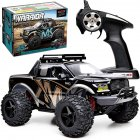 1 10 RC Car High Speed Four wheel Drive Climbing Off road Racing Toys for Children Golden