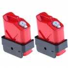 1:10 Scale Mini Fuel Tank RC Rock Crawler Accessory for Axial Wraith SCX10 90046 RC4WD D90 TRX4P 2PCS/Set  red