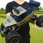 1 12 4WD RC Car Update Version 2 4G RadioHigh Speed Truck Off road Toy Gold