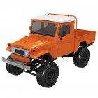 1:12 Simulation Truck RC Car Modeling Toy with Remote Control for Kids  Orange vehicle MN45_1:12