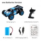 1:14 2.4G 4WD Remote Control RC Car Four Wheel Racing Electric Machine Auto Drift RC Funny Car Vehicles Toys Gifts Model d887 blue