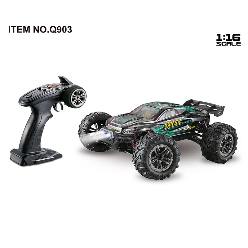 1:16 Brushless Four-wheel Drive High Speed RC Car Toy green_1:16