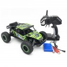 1/16 Off-road Vehicle 2.4G Remote Control High Speed Climbing Car Electric Toy Car for Kids green