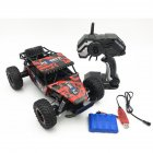 1/16 Off-road Vehicle 2.4G Remote Control High Speed Climbing Car Electric Toy Car for Kids red