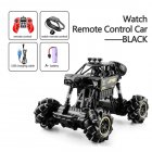 1:16 Rc Cars 4wd Watch Control Gesture Induction Remote Control Car Machine for Radio-controlled Stunt Car Toy Cars RC Drift Car 2032 black