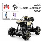 1:16 Rc Cars 4wd Watch Control Gesture Induction Remote Control Car Machine for Radio-controlled Stunt Car Toy Cars RC Drift Car 2032 gold