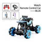 1:16 Rc Cars 4wd Watch Control Gesture Induction Remote Control Car Machine for Radio-controlled Stunt Car Toy Cars RC Drift Car 2032 blue