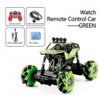 1:16 Rc Cars 4wd Watch Control Gesture Induction Remote Control Car Machine for Radio-controlled Stunt Car Toy Cars RC Drift Car 2031 green