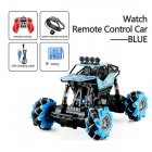 1:16 Rc Cars 4wd Watch Control Gesture Induction Remote Control Car Machine for Radio-controlled Stunt Car Toy Cars RC Drift Car 2031 blue