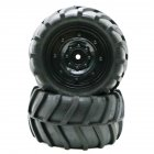 1/16 Tires for Remote Control Car Racing Off-road Drift Truck Wheel : Closed-type