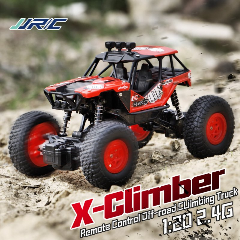 1/20 2.4G Off-road Climbing Car for Kids red