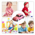1:24 Alloy Simulation Car Off-road Vehicle with Light Sound Doors Open Delicate Collection pink