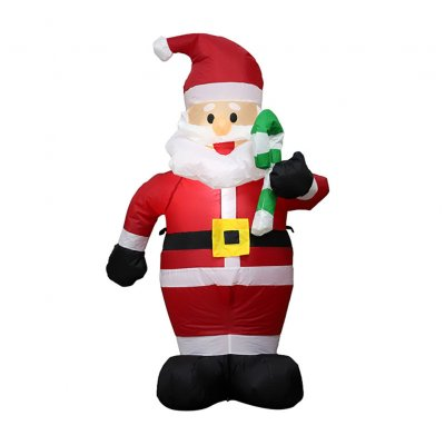 1.2M Tall Christmas Inflatable Santa Claus